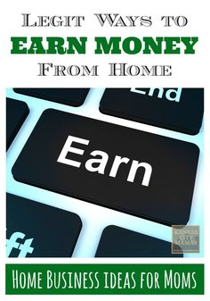 Need to earn a few extra dollars? Here are Four LEGIT and Low-Hassle Home Business Opportunities that are flexible for a mom's schedule!
