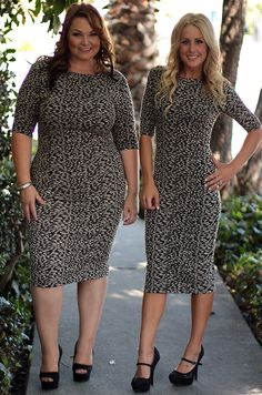 Too cute! Dress in small through plus size from Be Inspired Boutique