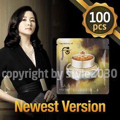 [The history of Whoo] Hwa hyun Cream 1ml x 100pcs (100ml) Anti-Aging Lightening
