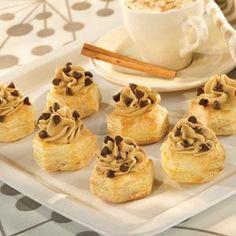 Pepperidge Farm® Puff Pastry - Recipe Detail - Cappuccino Cream Cups