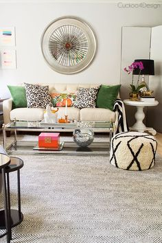 A new gorgeous rug for our living room! Rugs USA Sierra Paddle Rug
