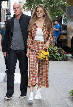 Gigi out and about in New York, September 8th ❤