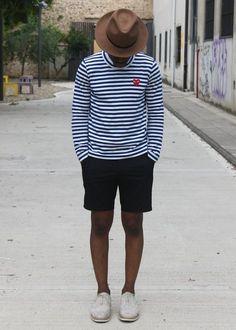 Striped Cotton Shirt - Comme Des Garcons Play