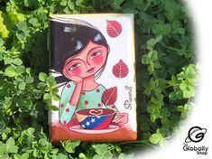 Decoupage, Lunch Box, Etsy, Products, Te Quiero, Venezuela, Crates, Handmade, Gadget