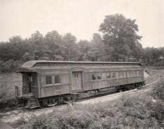Washington & Old Dominion R.R. Car Exterior.