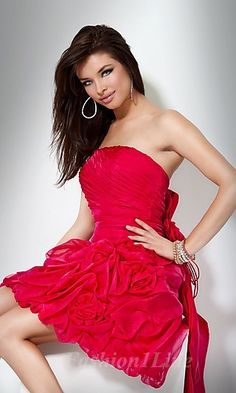 This red dress. Love. It.