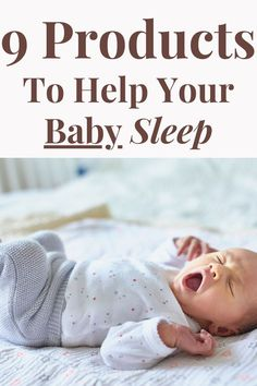 As a new Mom sleep deprivation is real! When you bring your little one home, you have no idea what day or time it is. As you are in this fog, all you can think about is how to get your baby sleep! All Mamas know this, but when your baby sleeps, you sleep! . I wanted to simplify this list for you, so you can get these long stretches too! Check out 9 products to help your baby sleep. #sleeptraining #newborn #newmom Baby Shot Schedule, Newborn Schedule, Moms Sleep, Help Baby Sleep, Parenting Teens, Parenting Advice, Newborn Baby Tips, Minimalist Baby, Advice For New Moms
