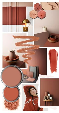 Color Crush: Spice Up Your Decor With Cayenne Paint Colors For Home, House Colors, Colour Schemes, Color Trends, Interior Color Schemes, Luxury Decor, Colorful Interiors, Mood Boards, Color Inspiration