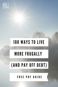 Debt Payoff, Debt Free, The 100, Pdf