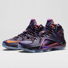 """Nike LeBron 12 """"Instinct"""" releases on November 22nd.  More details and photos now on Sneakernews.com"""
