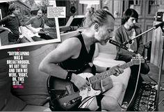 """msyorke: """" Radiohead recording """"A Moon Shaped Pool"""" Via """"Q"""" Magazine """""""