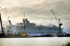 GigaPica : Oasis of the Seas. Grootste cruiseschip. Evah