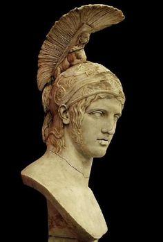 Head of Ares - after Greek original by Alkamenes 420 B.C, at the State Hermitage Museum, St. Petersburg, Micro Mythology (@micromythos)   Twitter