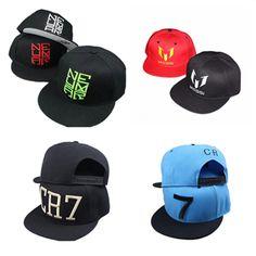 $4.96 (Buy here: https://alitems.com/g/1e8d114494ebda23ff8b16525dc3e8/?i=5&ulp=https%3A%2F%2Fwww.aliexpress.com%2Fitem%2F2016-New-Summer-fashion-Ronaldo-CR7-Baseball-Cap-Hat-men-women-MESSI-Snapback-Hats-Sports-Neymar%2F32763763559.html ) 2016 New Summer fashion Ronaldo CR7 Baseball Cap Hat men women MESSI Snapback Hats Sports Neymar NJR Hip Hop Caps for just $4.96