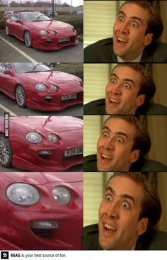 Because if we have to look at Nicolas Cage, it might as well be these hilarious memes. Humor The Funniest Nicolas Cage Memes Really Funny, Funny Cute, The Funny, Funny Pics, Funny Stuff, Funny Things, Clean Funny Pictures, Meme Pictures, Sports Pictures