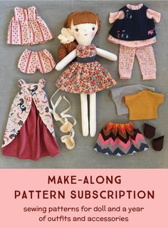Wee Wonderfuls Make-Along Doll