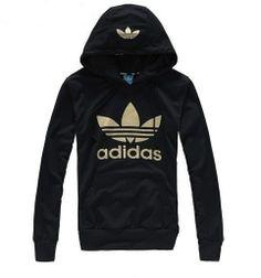 NWT black adidas sweater