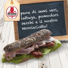 Oggi vogliamo condividere con voi l'idea di un panino gourmet del nostro ristorante NorcinArte. Semplice ma delizioso: da NorcinArte troverete non solo i nostri panini gourmet, ma anche tutti i prodotti #renzini ! Panini Sandwiches, Fett, Hamburger, Gourmet, Paninis, Hamburgers, Bread Rolls, Burgers, Loose Meat Sandwiches