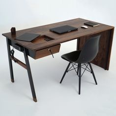 Waterfall Desk by Sean Woolsey Studio #awesome, #desk, #innovativedesign