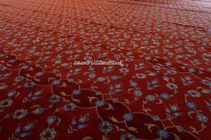 A kék mecset szőnyege