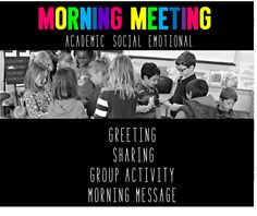 Tunstall's Teaching Tidbits: Morning Meeting: Let's Discuss