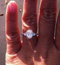 Oval Diamond Engagement Rings « Weddingbee Boards