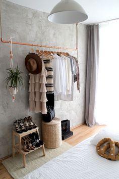 Małe mieszkanie pary projektantów