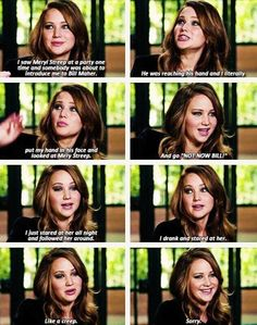 Jennifer Lawrence. I love her.