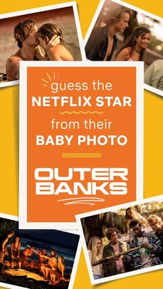 Guess the Netflix Star from their Baby Photo   Outer Banks Edition