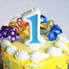 Number 1 Numerals Birthday Party Cake Candle  Blue *** Check this awesome product by going to the link at the image. (This is an affiliate link)