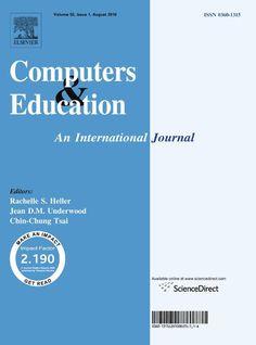 Публикации в журналах, наукометрической базы Scopus  Computers & Education #Computers #Education #Journals #публикация, #журнал, #публикациявжурнале #globalpublication #publication #статья