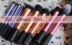 natural chic : TUTTI I MIEI PENNELLI REAL TECHNIQUES | REVIEW |