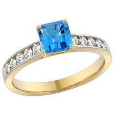https://ariani-shop.com/14k-white-gold-natural-swiss-blue-topaz-engagement-ring-princess-cut-5mm-sizes-5--10 14K White Gold Natural Swiss Blue Topaz Engagement Ring Princess cut 5mm, sizes 5 - 10