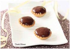 mini tartelettes poires amandes chocolat