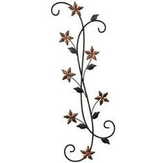 Fetco Katelyn Floral Scroll Wall Decor ($20)
