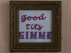 Fed Up Artist Turns Catcalls Into Needlepoints