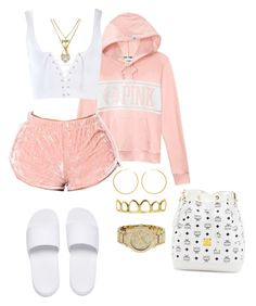 Mcm, michael kors, betsey johnson and roial casual outfits, cute outfits, f Cute Lazy Outfits, Swag Outfits For Girls, Cute Swag Outfits, Chill Outfits, Girls Fashion Clothes, Teen Fashion Outfits, Teenager Outfits, Dope Outfits, Stylish Outfits