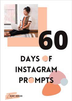 Instagram Marketing Tips, Instagram Tips, Instagram Posts, More Followers On Instagram, Engagement Tips, Best Entrepreneurs, Social Media Tips, Prompts, Content