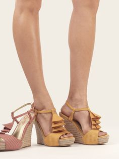 Our HOW DO YOU DO wedges are just simply adorable. Don't you think?