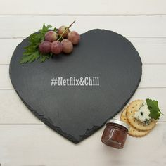 Best seller at Hudson Baby Company - Classic Couples' Heart Slate Cheese Board is a modern personalized gift. We have endless collection of personalized gifts for everyone. Personalized Cheese Board, Personalized Valentine's Day Gifts, Engraved Gifts, Slate Cheese Board, Cheese Boards, Unique Anniversary Gifts, Wedding Anniversary, Cheese Lover, Monogram Wreath