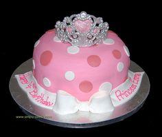 Princess Tiara cake by Simply Sweets, via Flickr