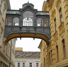Bridge of Sighs, City Hall, Szeged, Hungary Budapest, Homeland, Travel Destinations, Mansions, House Styles, City, Bridge, Instagram, Europe