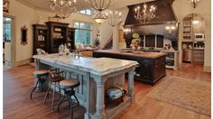 North Carolina Lakes, Double Island Kitchen, Double Islands, Ranch Kitchen, Future House, Home Kitchens, Kitchen Remodel, New Homes, The Incredibles