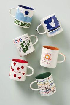 Hotel Magique for Anthropologie Melange Mug | Anthropologie Love Connection, Spring Home, Mug Cup, Best Brand, Paper Goods, Valentine Day Gifts, Valentines, Decoration, Gift Guide