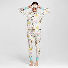 b061d9d459 Disney® Princess Women s Toss Thermal Pajamas Set with Matching Eye Mask    Target.  20.00