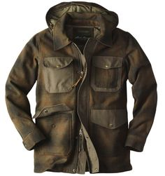 This hunting inspired coat from Eddie Bauer looks so comfy.