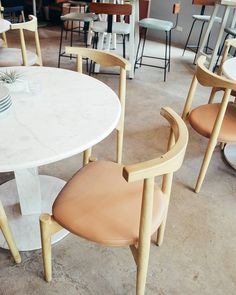 Sunnies Cafe, Furnitures, Bowls, Home Furniture, Dining Chairs, Commercial, Earth, Spaces, Interior Design