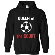Queen of the court - Soccer T Shirt, Hoodie, Sweatshirt