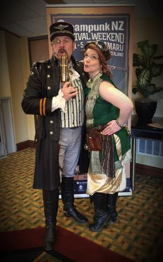 Viscount Eastman Wesley and the Pixie. #steampunk