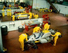 "timewastingmachine: "" Assembling RE30 at Viry-Chatillon Factory """